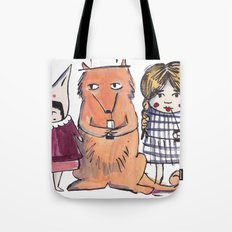 Moo Friends Tote Bag