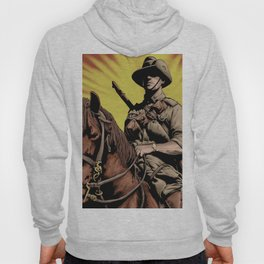 Australian Light Horse soldier Hoody