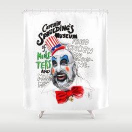 Captain Spaulding Shower Curtain