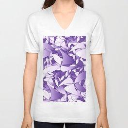 Pattern violet 211 Unisex V-Neck
