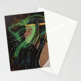 Personification of the Egyptian God Kek Stationery Cards
