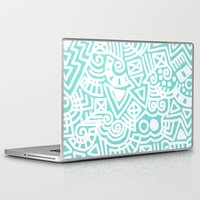 tiffany Laptop & iPad Skins featuring Tiffany Doodle by emain
