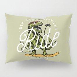 Dinosaur Surfer Pillow Sham
