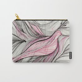 Pink Dove Carry-All Pouch