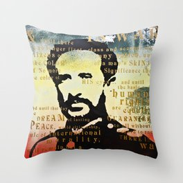 Haile Selassie War Throw Pillow