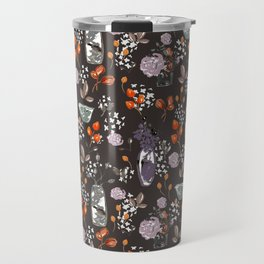 Sepia Bouquets Travel Mug