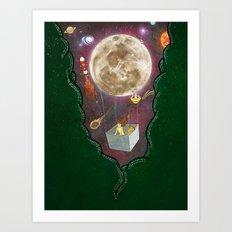 A Space Odyssey  Art Print