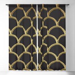 Gatsby deco glam Blackout Curtain