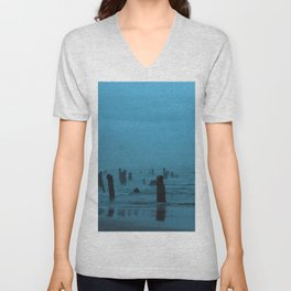 Ghost Forest Unisex V-Neck