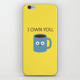 Coffee Talk iPhone Skin