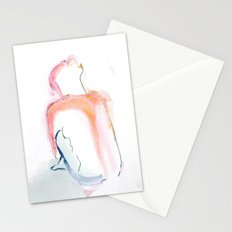 Girl in Brights Stationery Cards