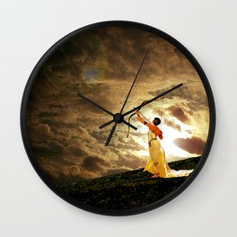 The Far Side of Midnight Wall Clock