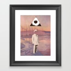 A Gentleman And A Scholar Framed Art Print