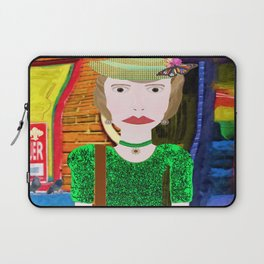 Strolling on a Sunday afternoon Laptop Sleeve