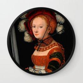 "Lucas Cranach the Elder ""Judith with the Head of Holofernes"" 3. Wall Clock"