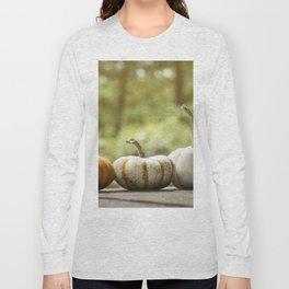 Fall pumpkins, harvest decor Long Sleeve T-shirt
