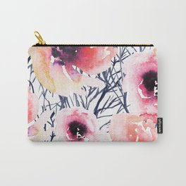 Roses on Sticks Carry-All Pouch
