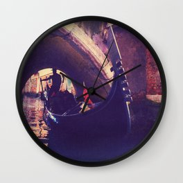 """""""Venice is like eating an entire box of chocolate liqueurs in one go.""""  ― Truman Capote Wall Clock"""