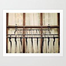 London Grille Art Print