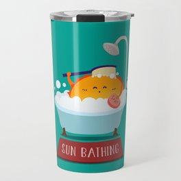 Sun Bathing Travel Mug