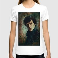 sherlock T-shirts featuring Sherlock by Sirenphotos