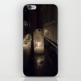 Light a candle, Say a prayer. iPhone Skin