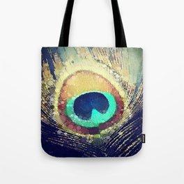 Scott Hannum - Peacock Feather Tote Bag