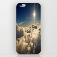 clouds iPhone & iPod Skins featuring clouds by 2sweet4words Designs