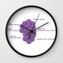 MEMBER? Wall Clock