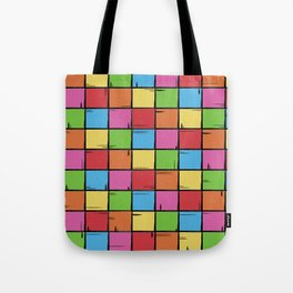 Color Boxes Tote Bag