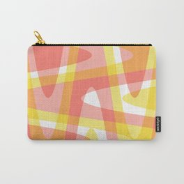 Pastel Waves 3 - Pink Carry-All Pouch