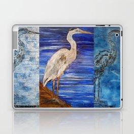Blue Heron Laptop & iPad Skin