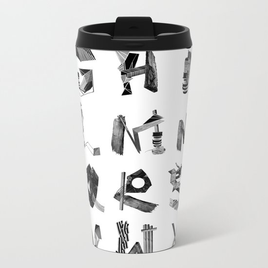 Avalanche ABC Metal Travel Mug