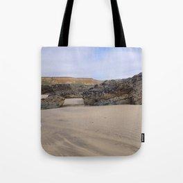 Godrecy Beach Cornwall Engand Tote Bag