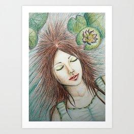 Ophelia (Perfect Water) Art Print