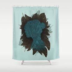 Ornithology. Shower Curtain