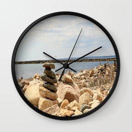 Beach Party Wall Clock