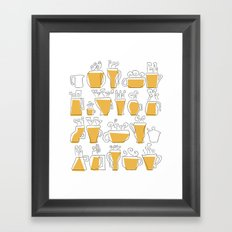 Coffee Mugs Framed Art Print