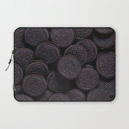 Oreo Cookie Pattern Illustration Laptop Sleeve