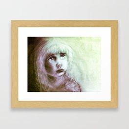 S o m e h o w Framed Art Print