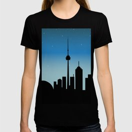 Toronto Skyline - Night T-shirt