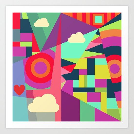 Geometric#7 Art Print