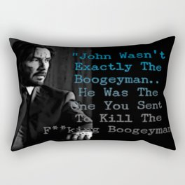 Wick's Creed Rectangular Pillow