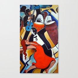 Red Hot Salsa Canvas Print