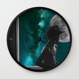 now departing planet earth Wall Clock