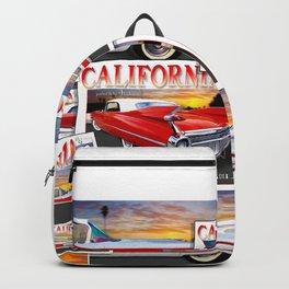 Cadillac California 1959 by John Logan Backpack