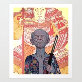 Oyabun Art Print