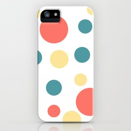 Coral Pop iPhone Case