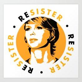 ReSister - Free Chelsea Manning Political Art Art Print