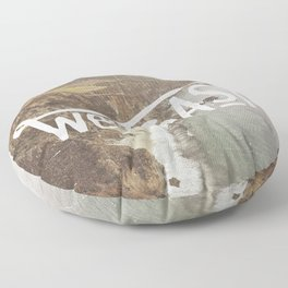 West Coast - BigSur Floor Pillow